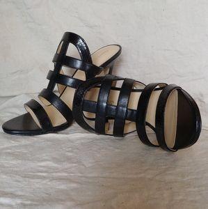 Ivanka trump black Sandles heels new nib